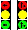 Semafoare cu indicarea directiei de deplasare